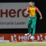 Amazons squeak home by three runs to top CPL log