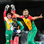 Tahir's four wickets key to Amazon win