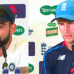 Kohli, Root talk third Test