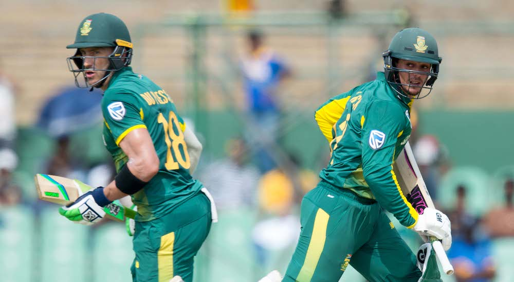 Du Plessis explains De Kock captaincy