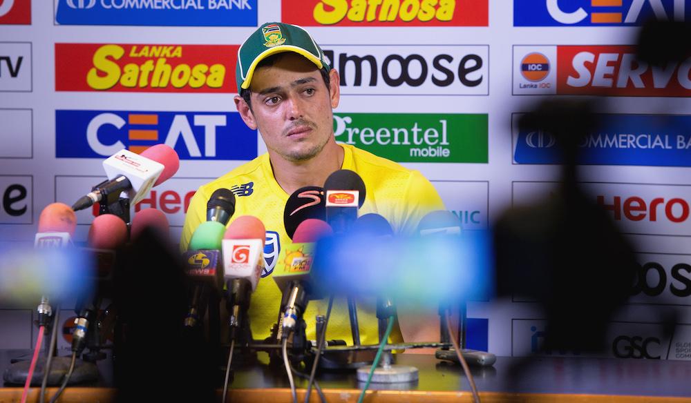 De Kock: ODI was exciting