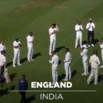 The start of Cook's last Test