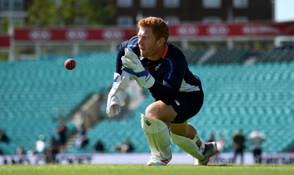 Bairstow back behind the wickets