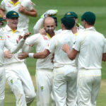 Aussies bag three more wickets