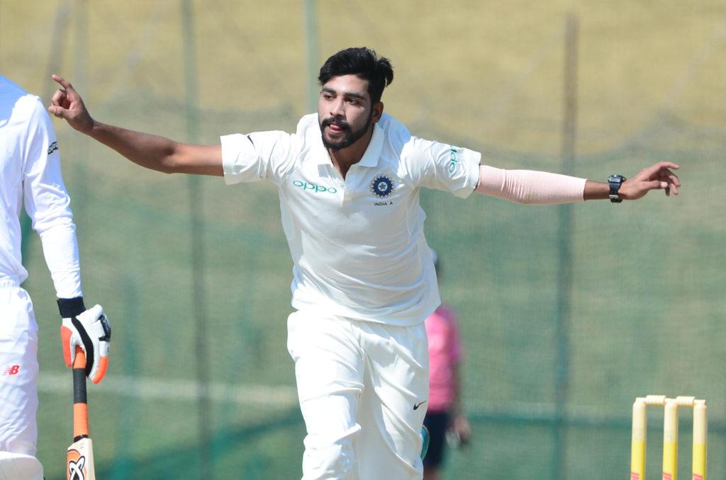 Eight-star Siraj overshadows three-figure Khawaja
