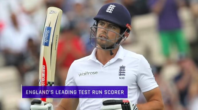 ICC's tribute to Cook