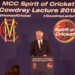 Dave Richardson's Spirit of Cricket lecture