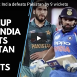 India's nine-wicket win over Pakistan