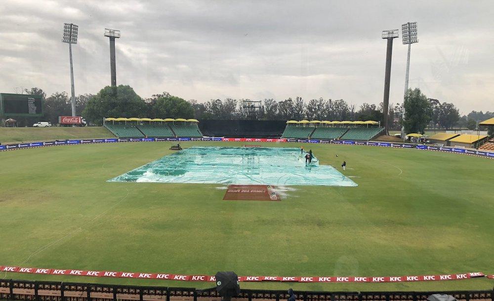 Rain abandons play in final T20I