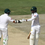 Hafeez scores ton after two-year Test hiatus