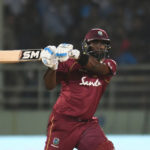 Hope's last-ball four ties it for Windies