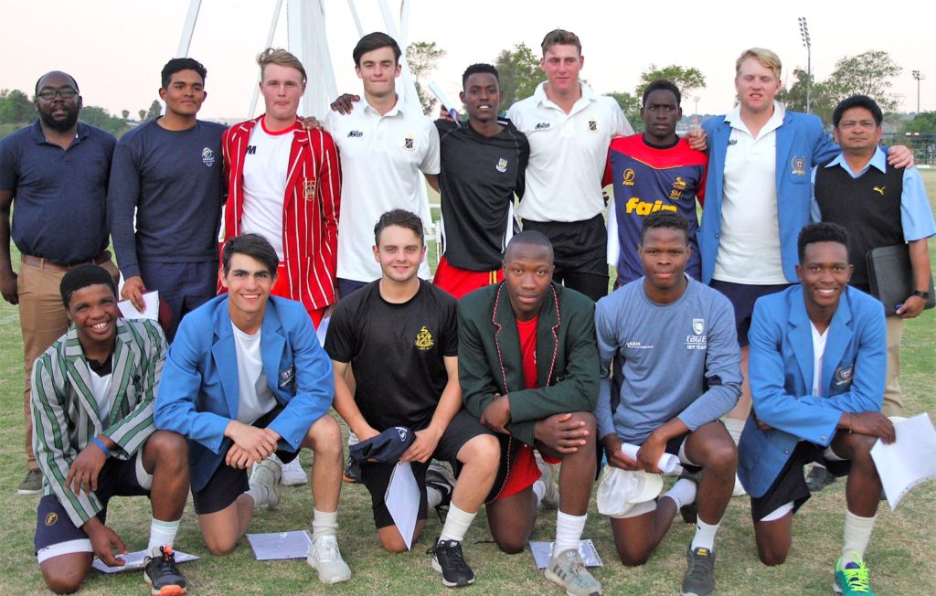 Central Gauteng Lions U19A side selected
