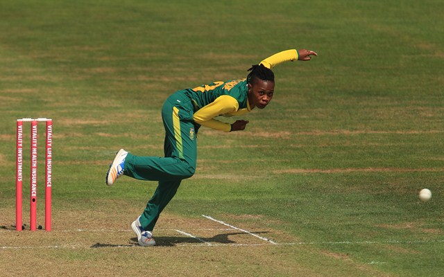 South African spinner suspended from bowling