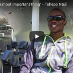 Watch: Tshepo Ntuli on being patient