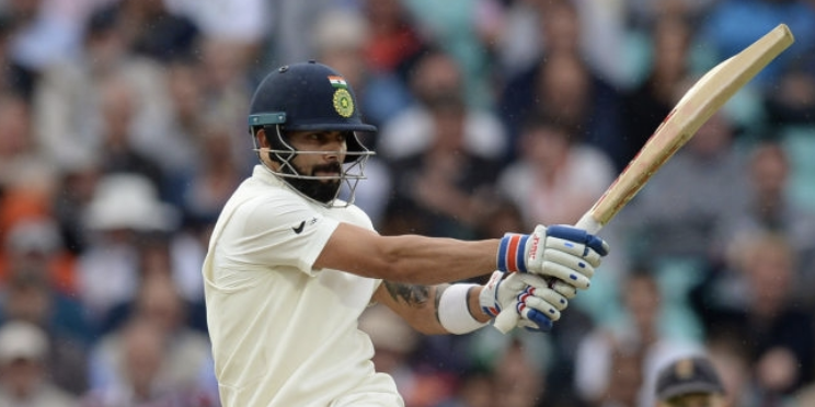 Kohli lands 24th Test ton