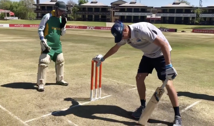 Boer scores 205 in blind T20 match