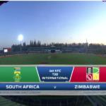 HIGHLIGHTS: SA vs ZIM (1st T20I)