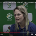 Watch: Dane van Niekerk on T20I squad