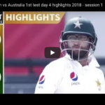 Watch: Pakistan vs Australia, Day 4 highlights