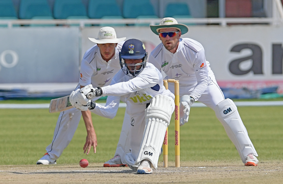 Knights dump Dolphins by five wickets