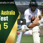 Highlights: Pakistan vs Australia (Day 5)