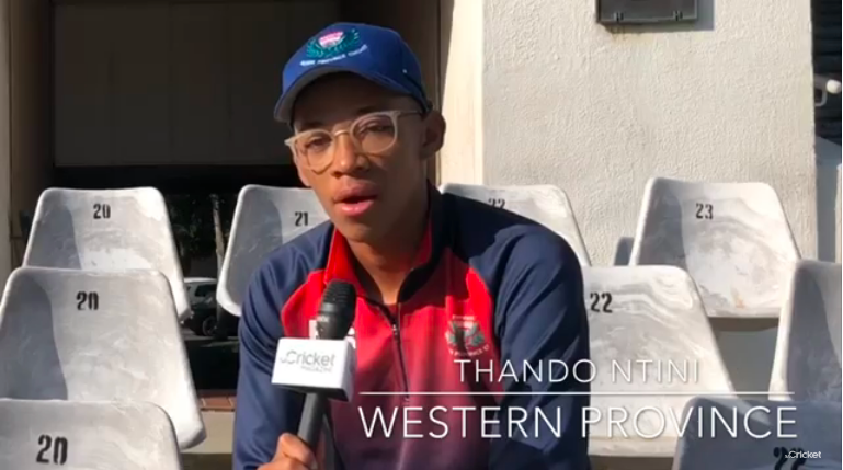 Watch: Ntini on the new season