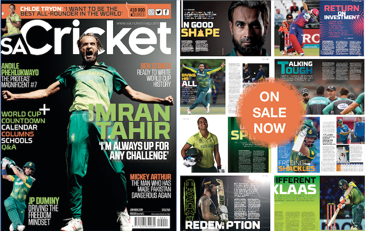 New issue: Tahir always up for challenge