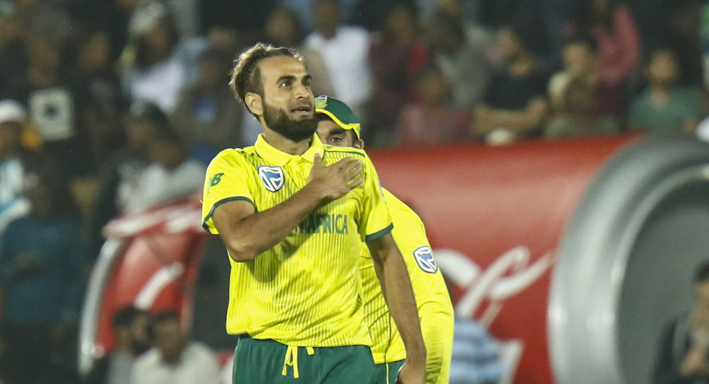 Tahir five-for seals win