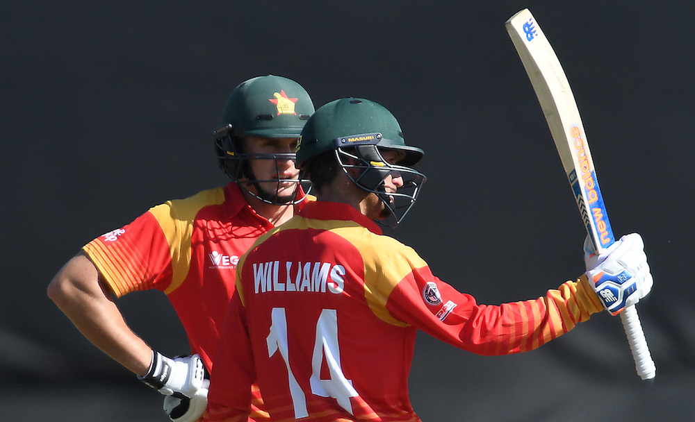 Williams fifty helps Zim to respectable total