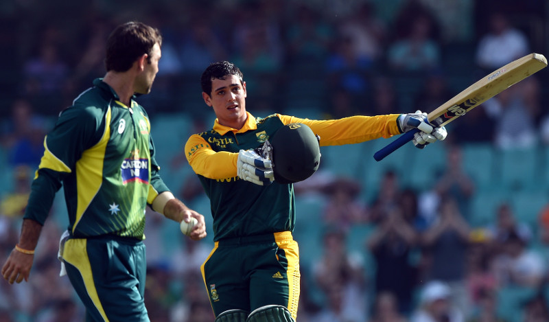 Last time SA played bilateral ODI series in Aus ...