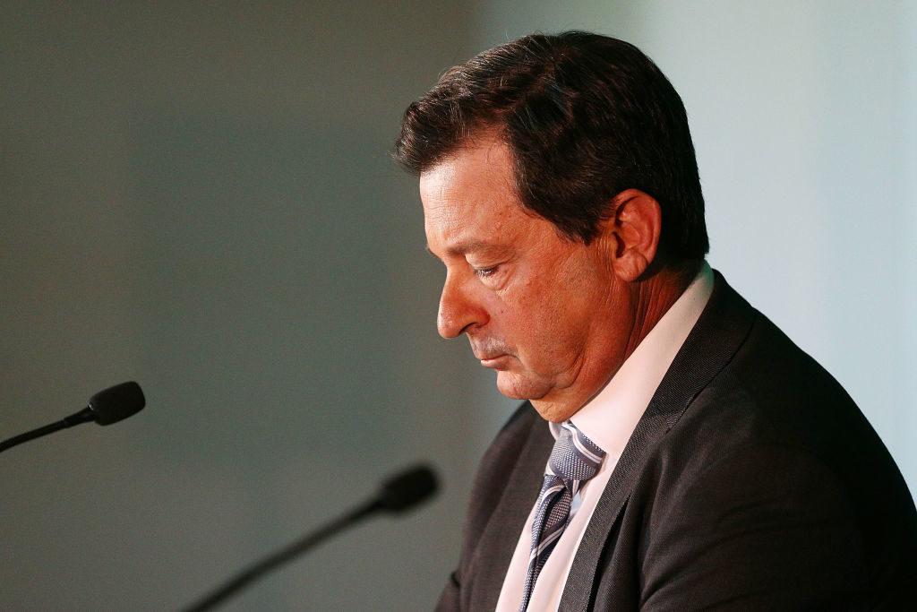 Cricket Australia chairman quits