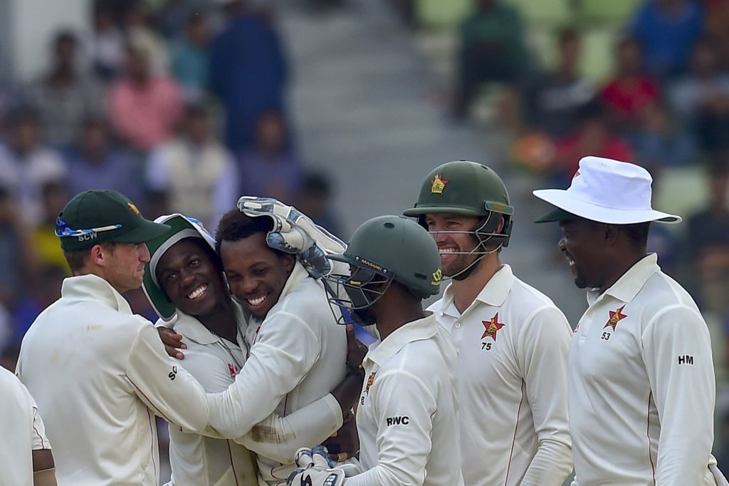 Zim clinch first away Test win since 2001