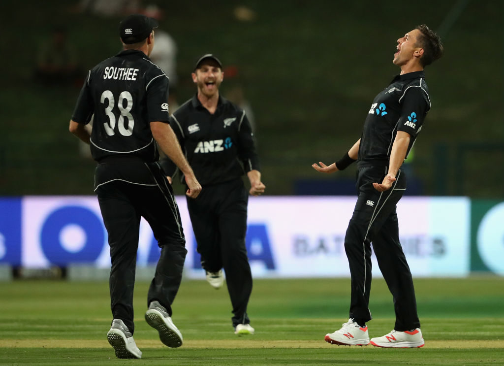 Boult hat-trick sets up Kiwi win
