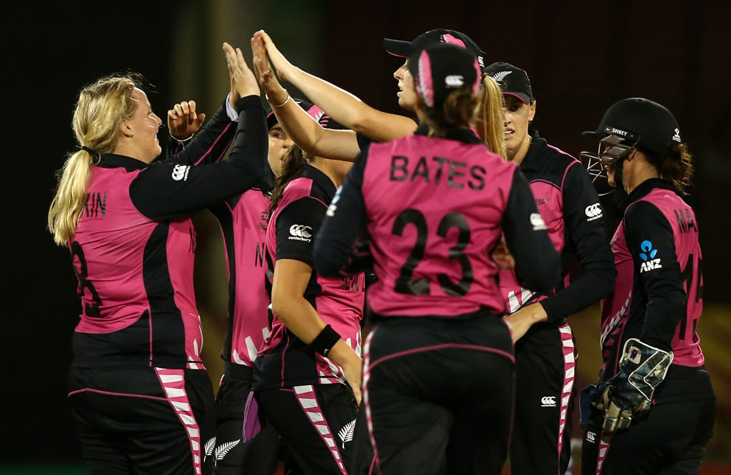 New Zealand Women bow out in style