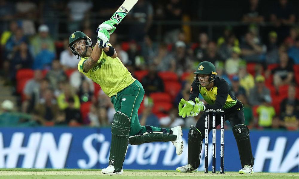 Proteas post 108-6 against Aussies