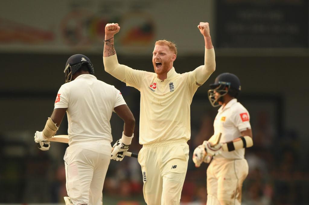 Stokes named Wisden's best cricketer