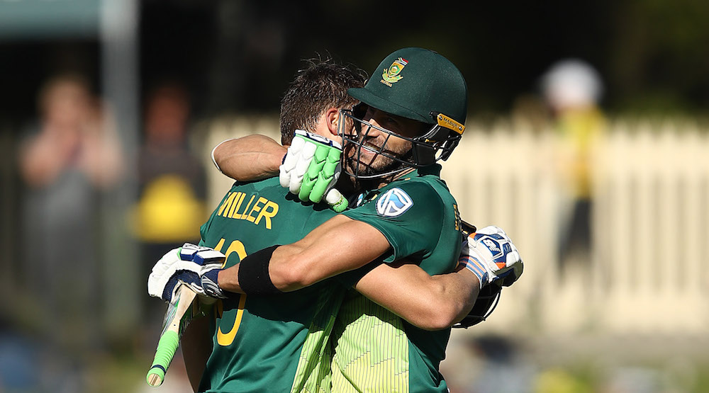 Faf, Miller take SA to first 300 in Australia