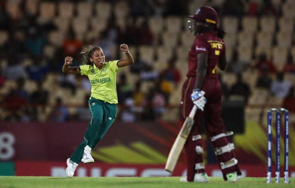 Shabnim walks the talk against Windies