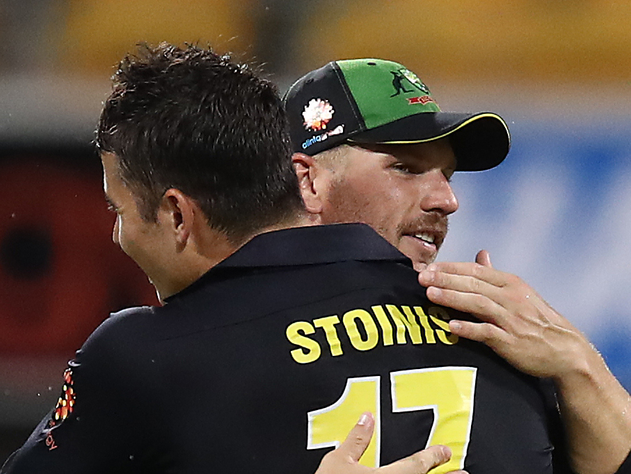 Finch's faith in Stoinis pays off