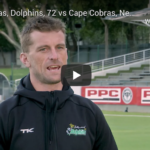 Watch: Dane Vilas, 72 vs Cobras