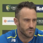 Watch: Faf talks ahead of Aus ODI series