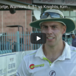 Watch: Anrich Nortje, Warriors, 5-51