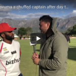 Watch: Bavuma chuffed after day 2
