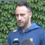 Watch: You need to be firm on what you want to achieve - Faf