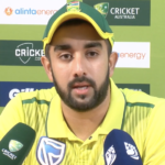 Watch: Tabraiz Shamsi, happy to get 'two overs on tour'