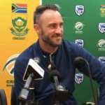 Faf says Aussies were 'tame'