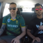 Watch: Duminy goes shotgun with Skouers