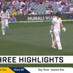 Highlights: Australia vs India (Day 3)