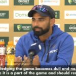 Watch: Sledging is part of game – Shami