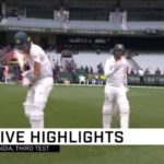 Highlights: Aus vs India (Day 5)